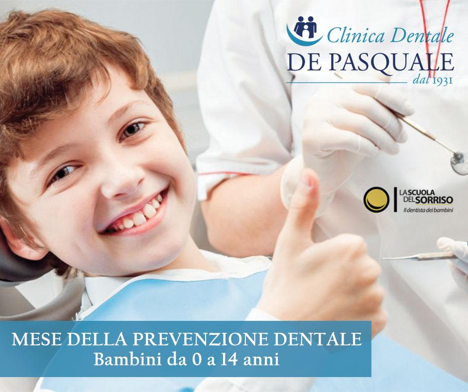Marzo, mese della prevenzione dentale per i bambini